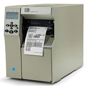 Zebra 105SL Plus industrial printer
